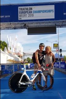persoonlijke-ervaringen - EK Triathlon Weert 2019 2 - UHTT-ers Charles en Vincent genieten op EK Triathlon in Weert - Vincent, raceverslag, Olympische Afstand, EK Weert, Charles, Age group