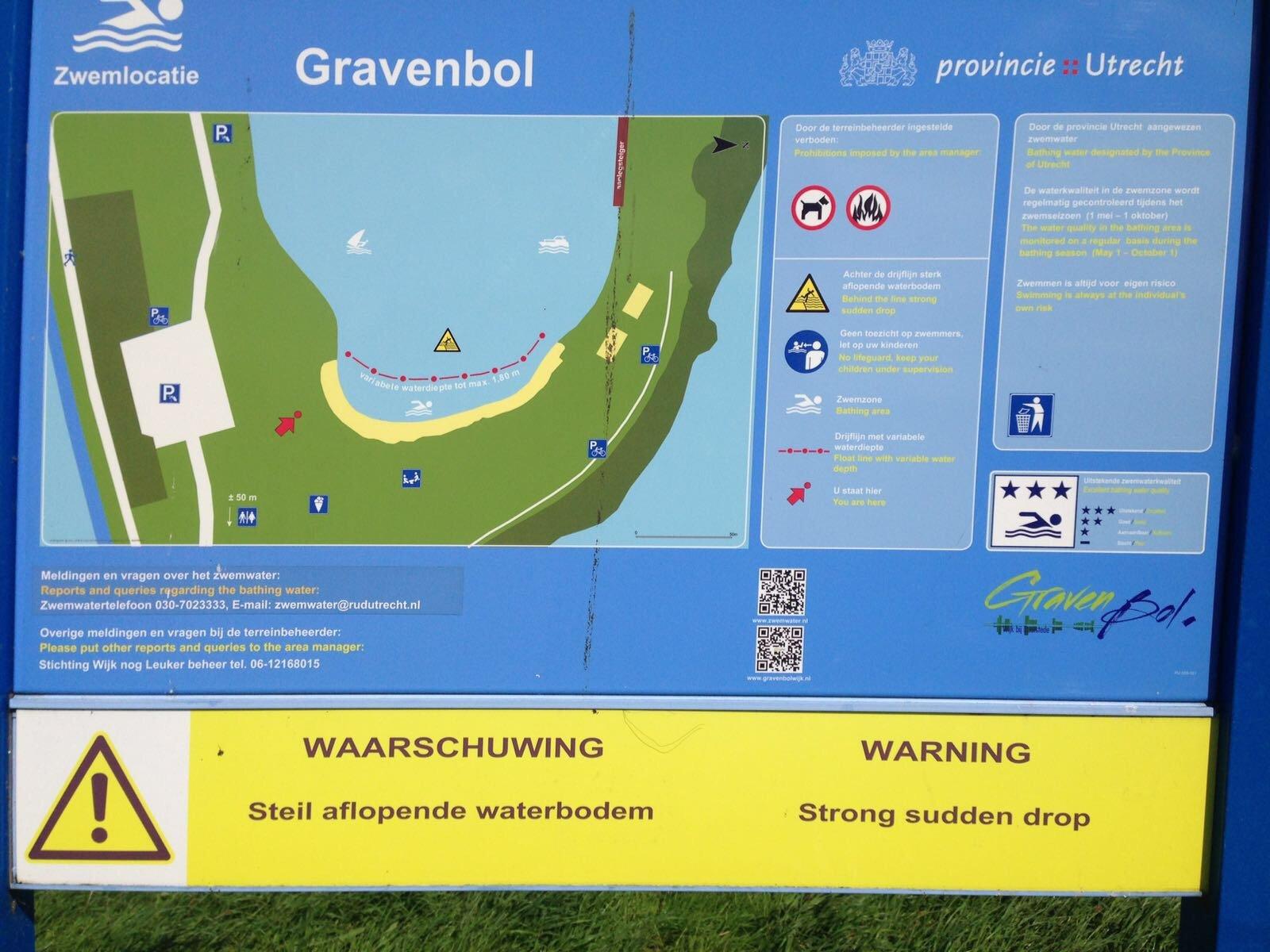 mooie-trainingslocaties - Gravenbol Zwemlocatie - Mooi open water om te trainen ontdekt! - Zwemmen