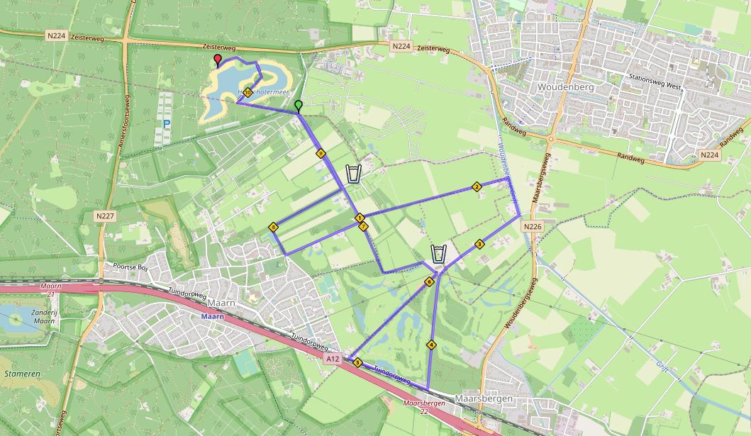 - Heuvelrug Triathlon Parcours Hardlopen Olympische afstand - Heuvelrug Triathlon - Sprint & OD Wedstrijd -