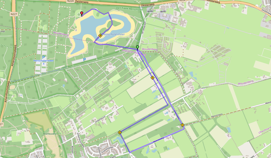- Heuvelrug Triathlon Parcours Hardlopen Sprint afstand - Heuvelrug Triathlon - Sprint & OD Wedstrijd -