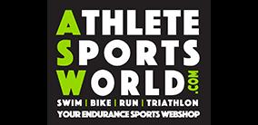 - Logo AthleteSportsWorld UHTT Partner - Triathlon op de Utrechtse Heuvelrug -