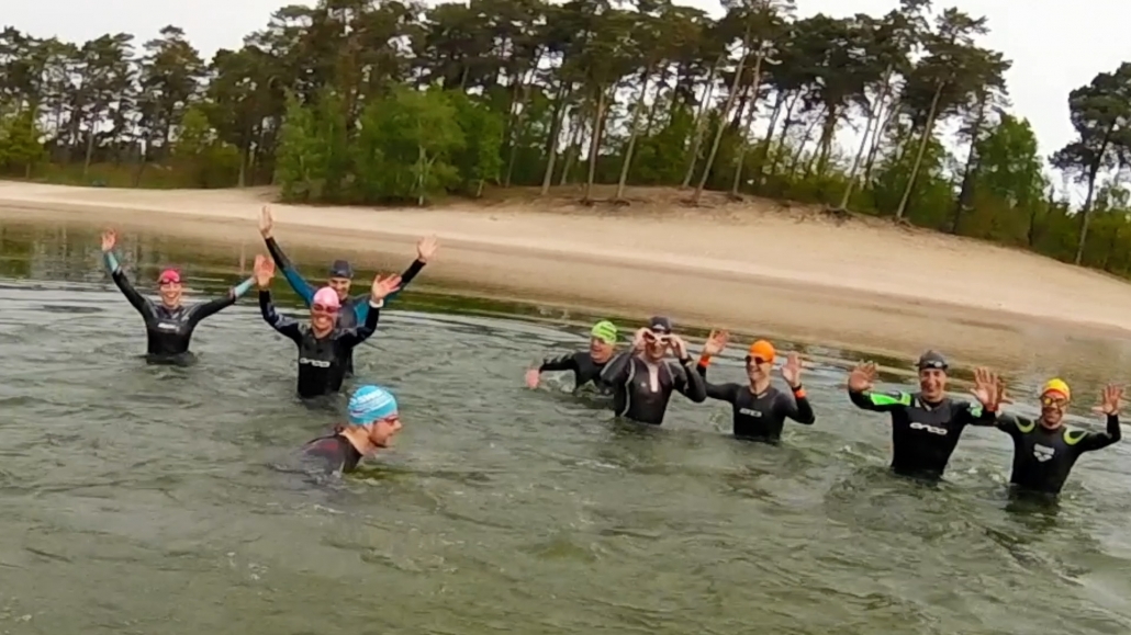 vereniging, mooie-trainingslocaties - Open Water Zwemmen training henschotermeer UHTT 2 1030x579 - In de zomer maandagavond open water zwemtraining  in het Henschotermeer - training, open water, henschotermeer, 2019