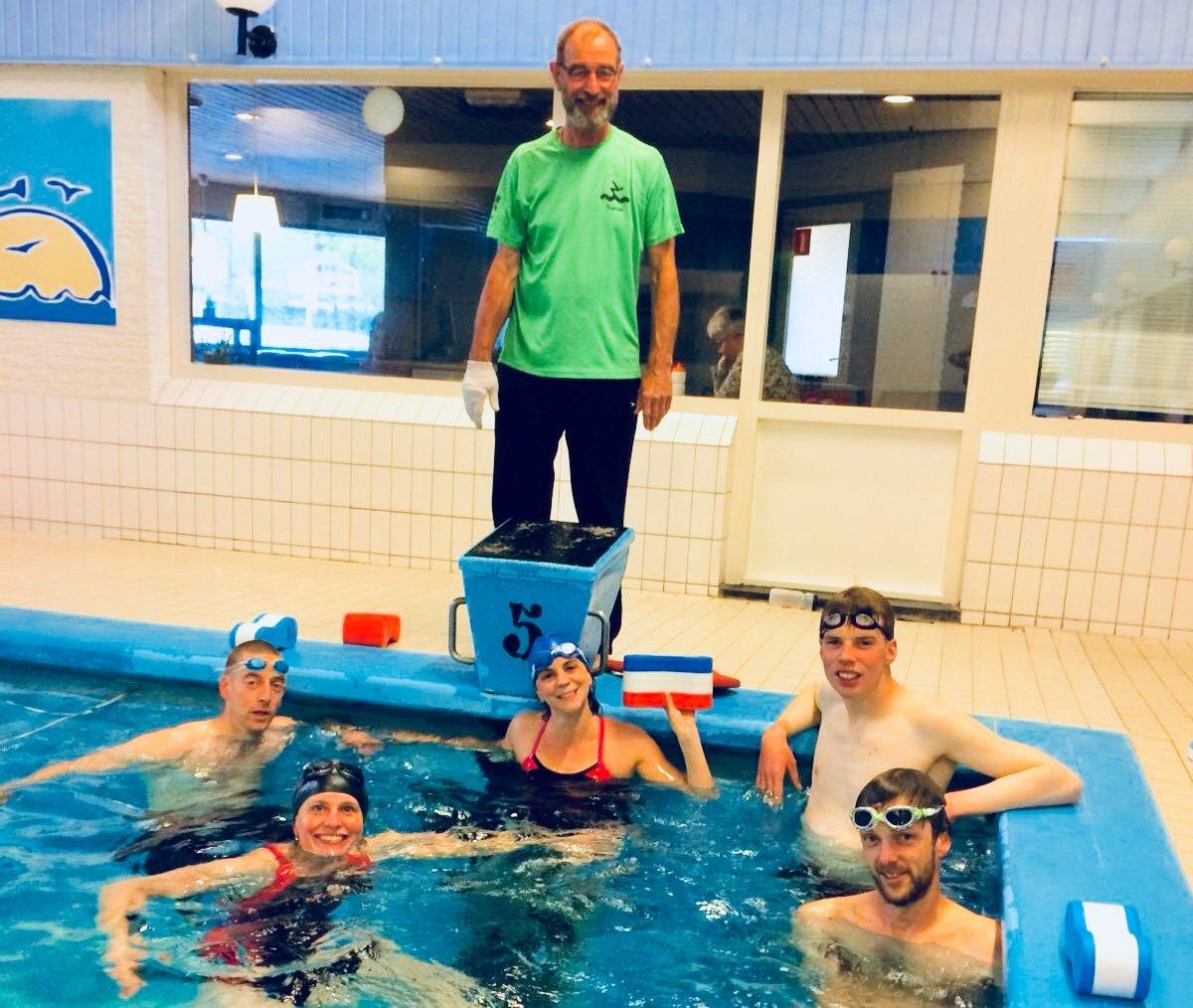 algemeen - UHTT Basiscursus zwemmen - UHTT start eigen zwemcursus 'basistechniek borstcrawl' - Zwemmen, trainen, Jorrit