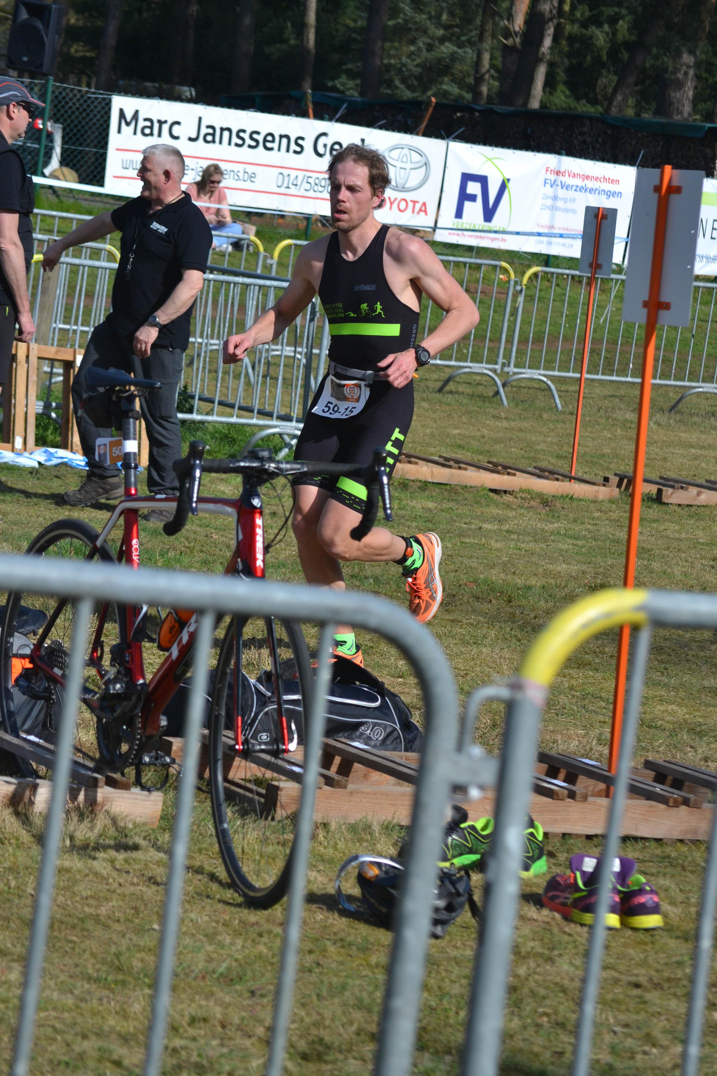 competitie - UHTT Run Bike Run Team Geel Homme - UHTT Run Bike Run Team verrassend 11e in Challenge Duathlon Geel - raceverslag, Nederland, Hardlopen, Fietsen, competitie, 2018