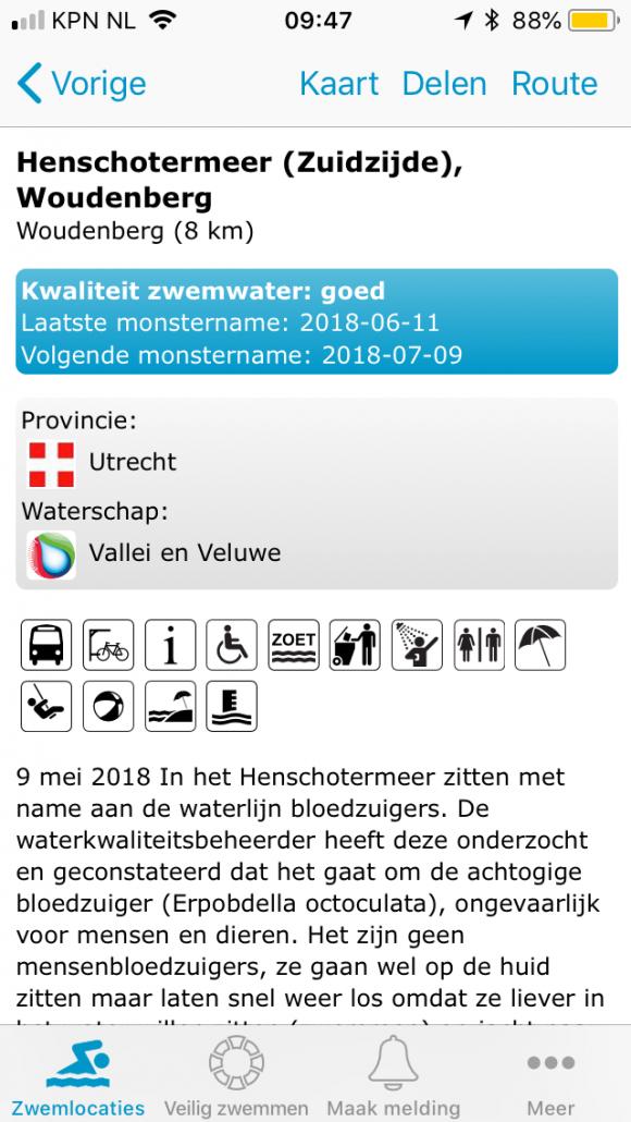 tips-tricks - Veilig en schoon open water zwemmen 2 580x1030 - 3 'need-to-know' websites voor elke sporter in de natuur - Zwemmen, Utrechtse Heuvelrug, trainen, tips, open water, Nederland, Jordi, Hardlopen, Fietsen